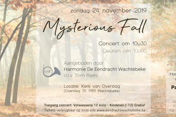 Najaarsconcert Mysterious Fall